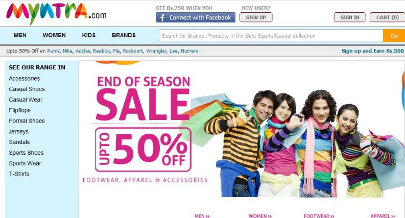 Most Trusted Online Shopping Sites in India