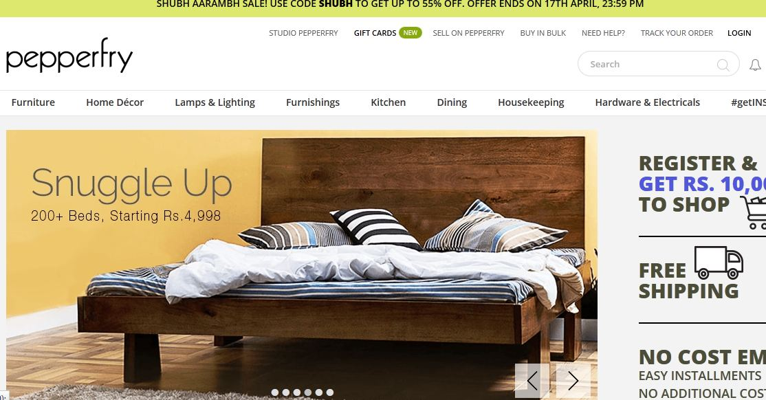 Top 10 Best Online Furniture Stores In India 2019 Web Visible