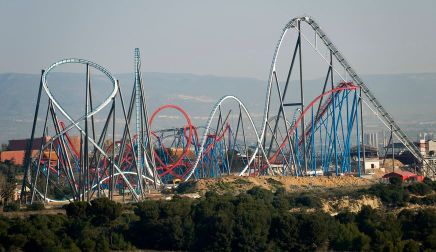 Biggest roller coasters