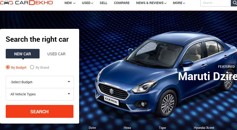 Best New Car Website